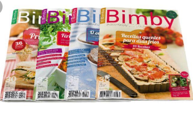 Revistas Bimby varias edições.