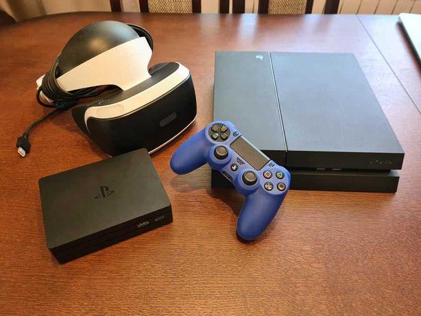 Playstation 4 500GB + 15Gier + Okulary VR