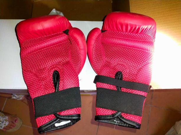 Luvas de boxe como novas