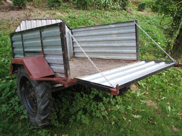 Przyczepka do OGRODU papaj sam Quad traktorek samochód SUPER przyczepa