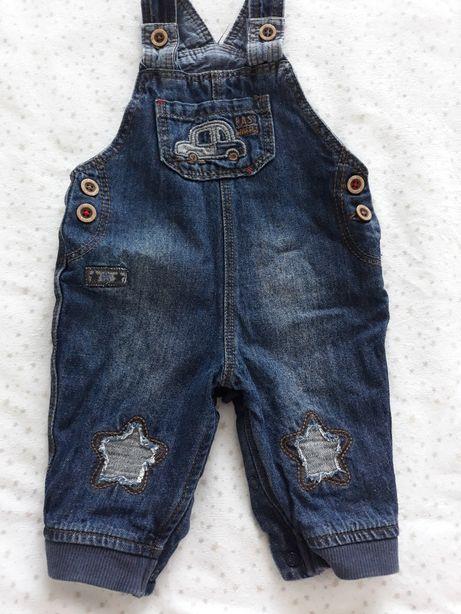 Комбезик джинсовый от 0-3мес