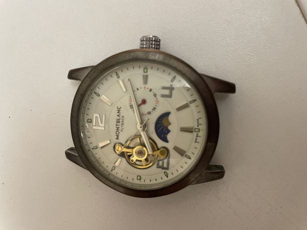 Часы montblank flyback с автоподзаводом наручные часы мужские