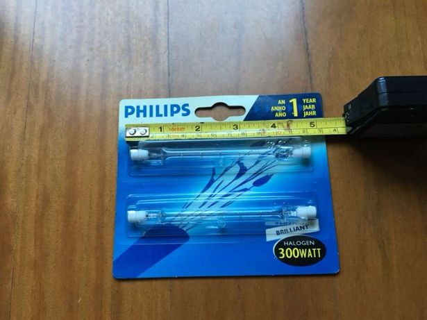 Lâmpadas Philips novas com portes
