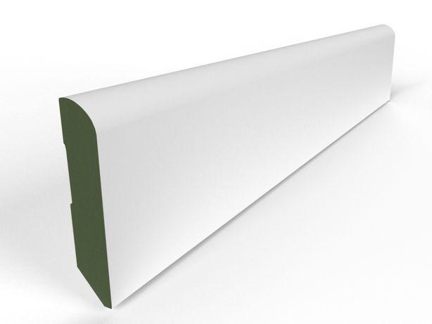 8 cm E Listwy przypodłogowe wilgocioodporne MDF gr 1,6 cm, dł. 207 cm