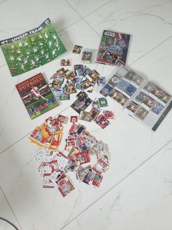 albumy karty football piłka nożna mega zestaw