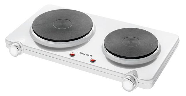 Concept kuchenka elektryczna VE3025 INOX 2 PALNIKI