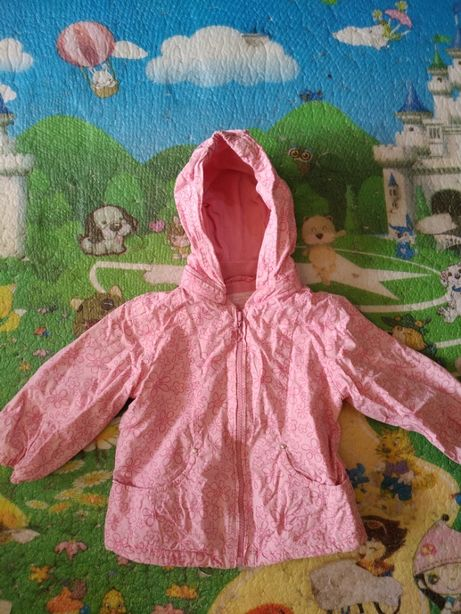 Куртка ветровка на возраст 1- 1,5 года (86 см)