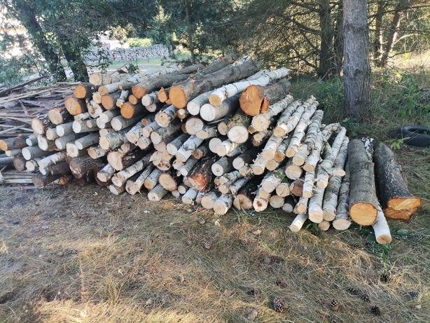 Drewno drzewo opałowe suche   100zl/m2 Dąb Brzoza Osika Czereśnia .