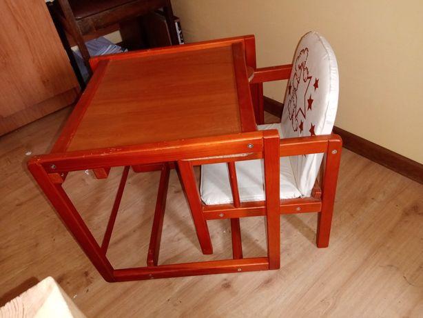 Krzesełko i stolik do karmienia