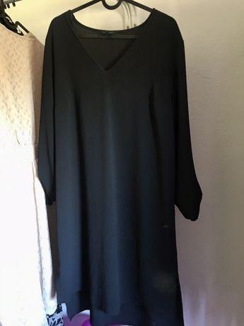 Sukienka czarna bardzo lekka