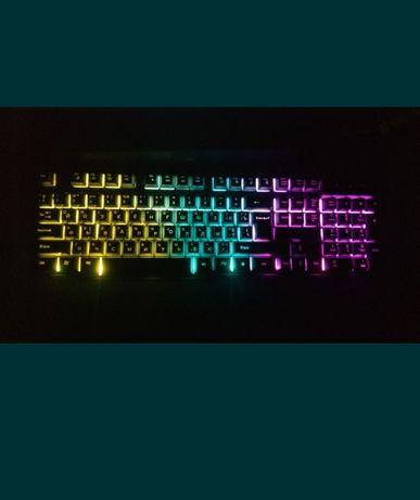 Игровая клавиатура havit с подсветкой