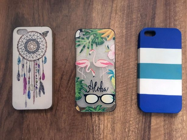 Pokrowiec case iPhone 5/5s/SE | 3 szt