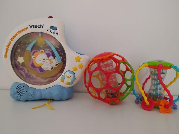 Oball zabawki, grające, vtech 3 szt.