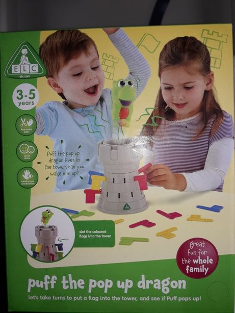 Elc.Mothercare.Отличная развивающая игра Замок дракона. 3-8 лет+