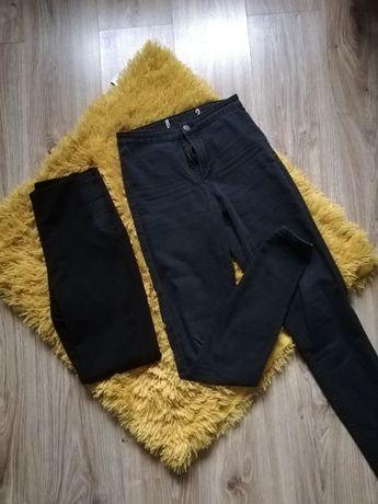 Spodnie z wysokim stanem plus legginsy