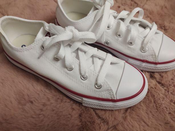 Trampki Converse r 32 Nowe Oryginalne Białe