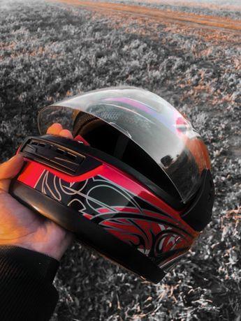 Мотошлем, шлем мотоциклетный, мото шлем FXW размер S