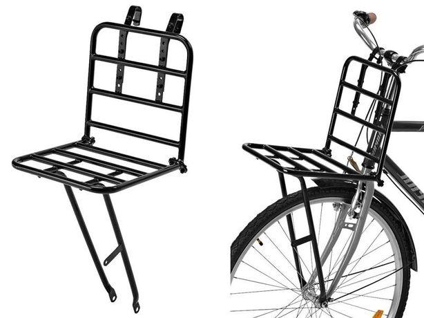 Bagażnik do roweru nad przednie koło • Platforma / Obciążenie 25 kg.