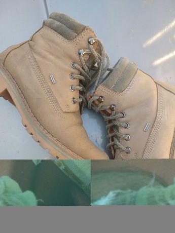 Ботинки кожаные оригинал бренд Леон привезены из Германии рр39
