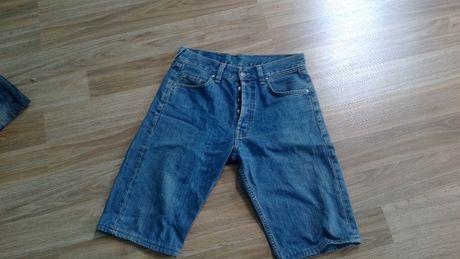 spodnie męskie krótkie jeans