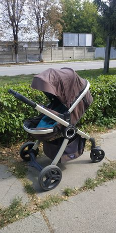 Детская коляска Chicco Urban трансформер б/у отличное состояние