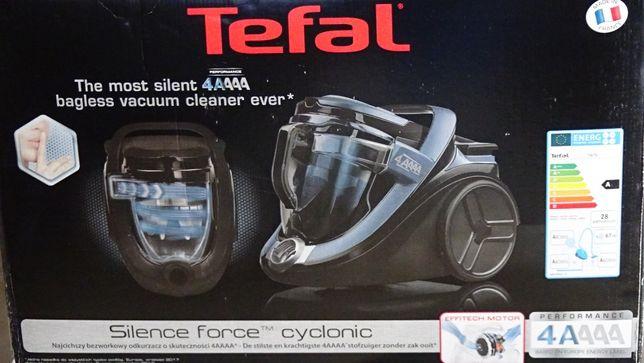 Odkurzacz bezworkowy Tefal Silence Force Cyclonic TW7681 4A