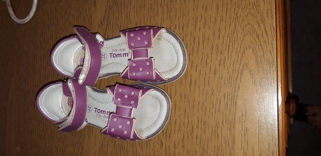 Босоножки на девочку Том.м. 27 размер