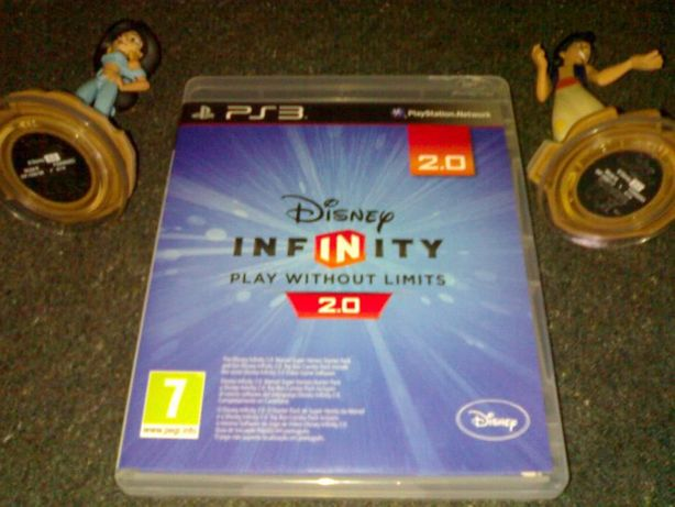 jogo ps3 infinity 2.0- +8 figuras