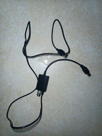 Усилитель антенный DVB-T2 ALN-1 + Інжектор живлення USB 5V