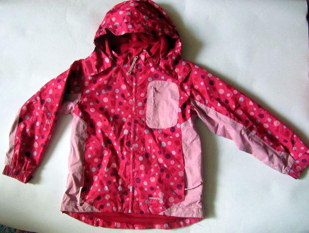 Красивая куртка-ветровка Mountaine Kids для девочки 7-8 лет