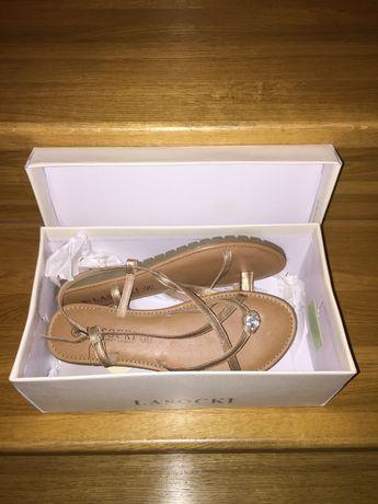 NOWE sandałki damskie - rozmiar 39