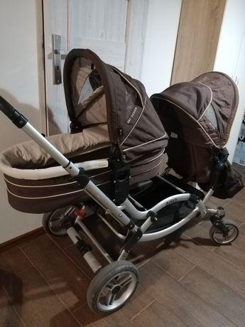 Wózek bliźniaczy rok po roku baby design abc zoom