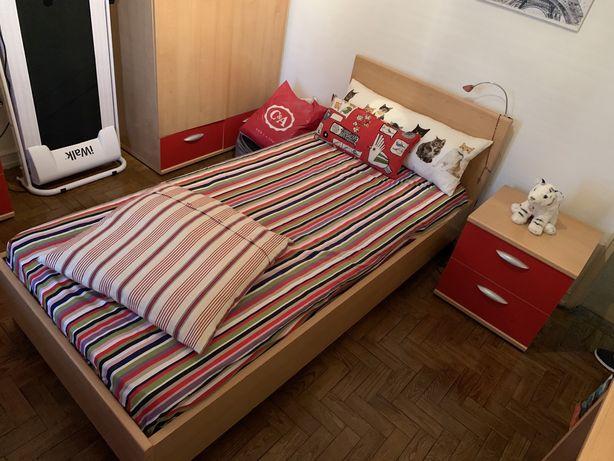 Mobilia de quarto completa - solteiro, como nova