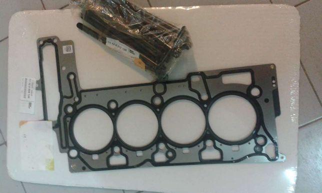 bmw motor n47 junta de cabeca e parafusos novos 177cv