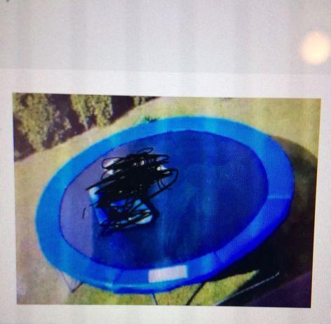 Hudora trampolina z siatką