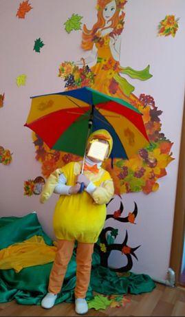 Детский костюм, костюм карнавальный, праздничный, утёнок