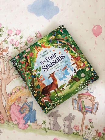 Usborne,The four seasons музыкальная книга Вивальди