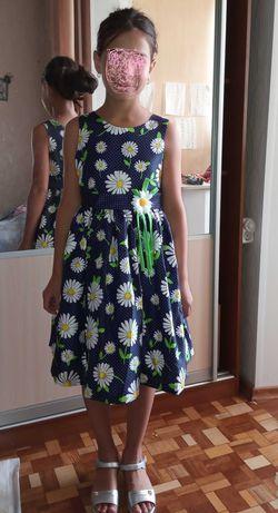 Нарядное платье 6-9 лет