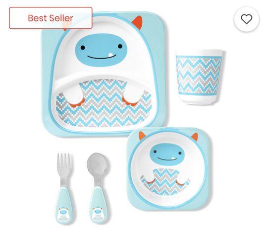 Набор посуды Skip Hop, тарелки скип хоп