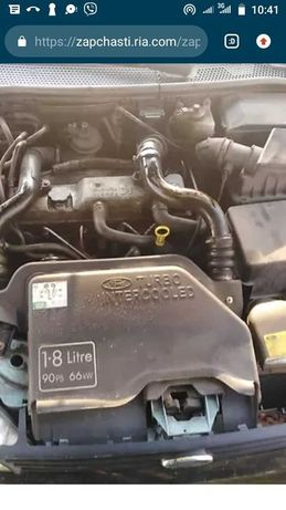 двигатель мотор форд фокус  транзит Коннект 1.8 дизель  без навесного
