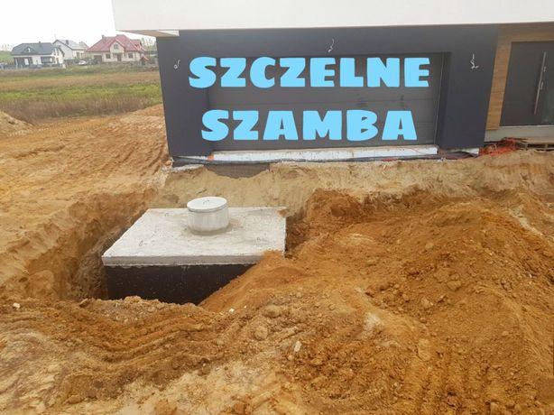 SZAMBA BETONOWE OD PRODUCENTA 10m3 4,6,8,10,12 m3 montaż w cenie