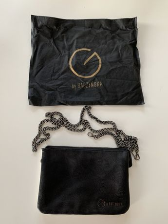 Biało-czarna torebka by Baczyńska