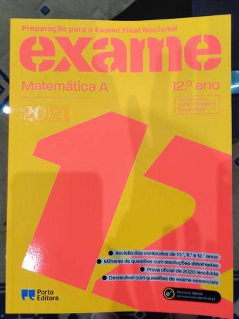Livro de Preparação Exame Nacional - 12º ano - Matemática A (2021)