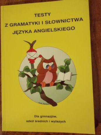 Testy z gramatyki i słownictwa języka angielskiego