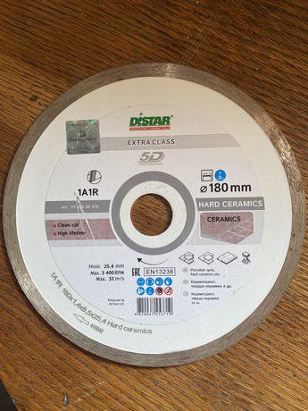 Диск для плитки Distar 180 mm. Новый