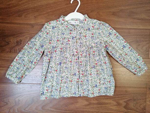 Koszula dziewczęca Zara rozm. 104