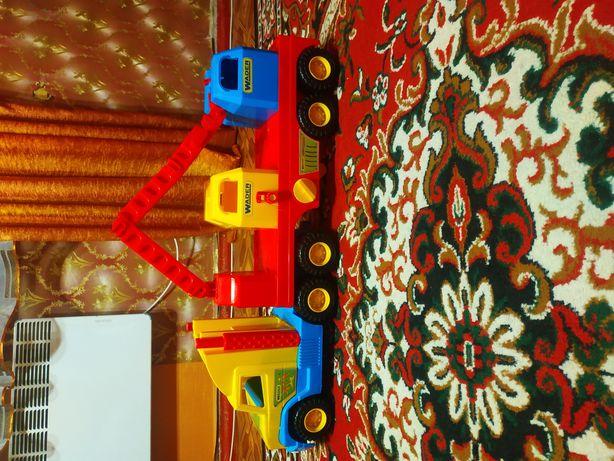 Детская машина тягач