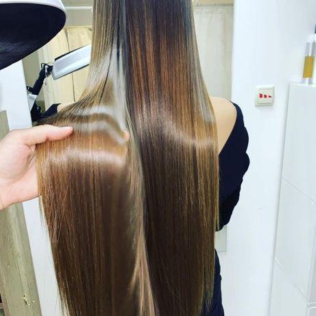 Ботокс-биореконструкция волос(восстановление поврежденных волос)