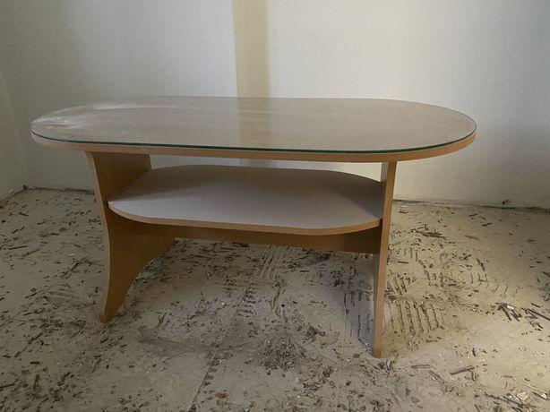 Przeszklony stół