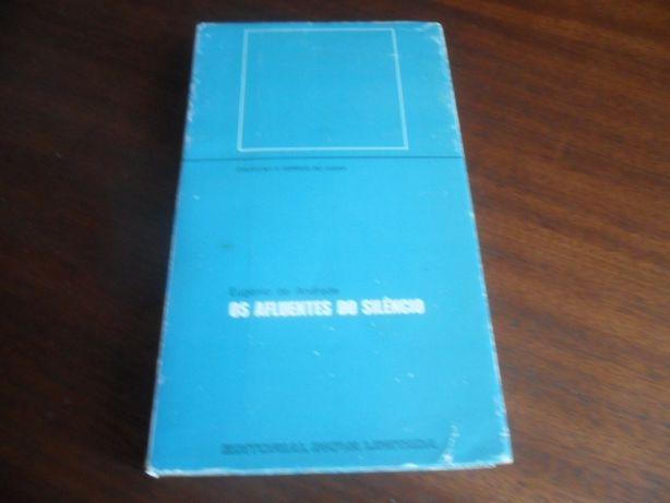 """""""Os Afluentes do Silêncio"""" de Eugénio de Andrade - 2ª Edição de 1970"""